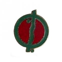 Pin's de Tintín Los cigarros del faraón Kih-Oskh Corner Verde (Nº85)