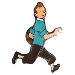 Pin's de Tintin courant Corner (Nº89)