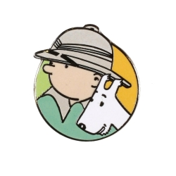 Pin's Tintin and Snowy in Congo Corner (Nº166)