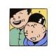 Pin's Tintin Snowy Aviator Corner (Nº252)
