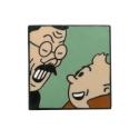 Pin's de Tintín y Mitsuhirato Corner (Nº259)
