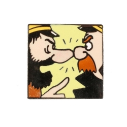 Pin's Tintin The captains Haddock and Chester Corner (Nº255)