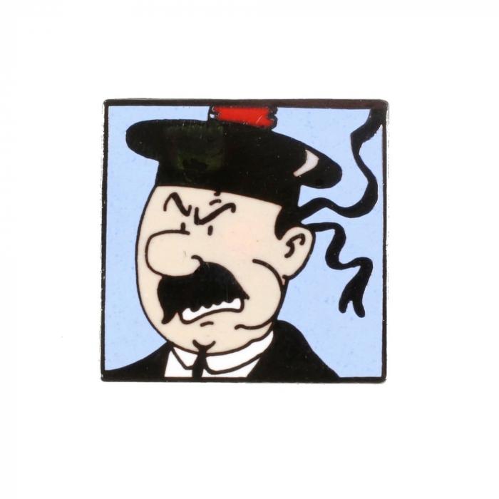 Pin's Tintin Dupont Marine Corner (Nº257)