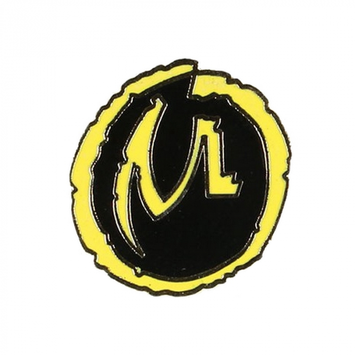 Pin's de Blake y Mortimer La Marca Amarilla Corner (Dorado)