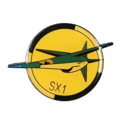 Pin's de Blake et Mortimer Le Secret de l'Espadon SX1 (Corner)