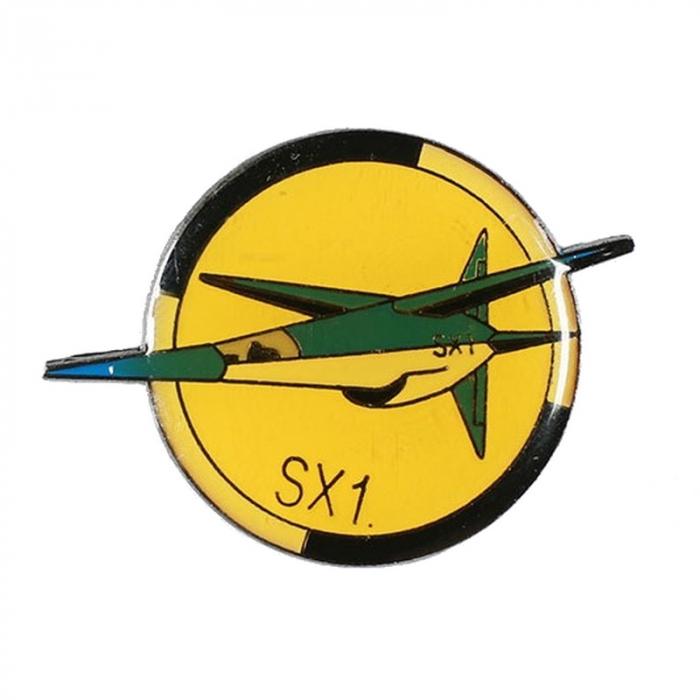 Pin's de Blake y Mortimer El Secreto del Espadón SX1 (Corner)