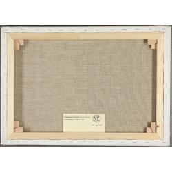 Cuadro en lienzo Los Pitufos La Base Editions du Grand Vingtième (50x40cm)