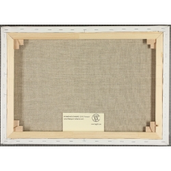 Framed Canvas The Smurfs Base Editions du Grand Vingtième (50x40cm)