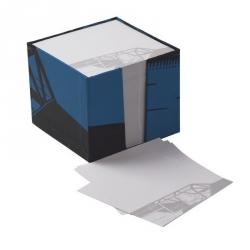 Bloc de notas memo Tintín y Milú Avión 9,5x9,5cm (54734)