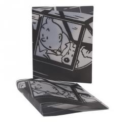 Clasificador carpeta de anillos A4 Las aventuras de Tintín y Milú Avión (54730)