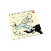 Calendario 2017 Las aventuras de Tintín 15x15cm (24353)