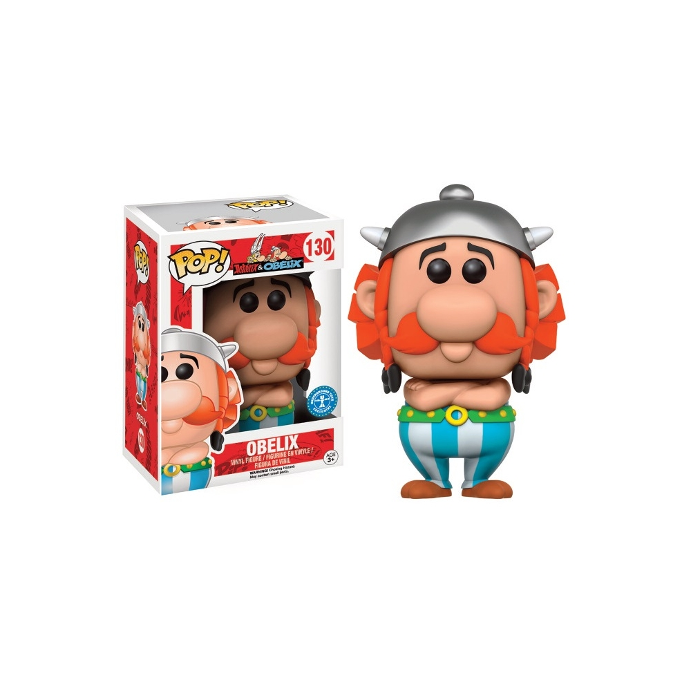 Funko Pop Superstore Toys Comics Collectibles: Collectible Figure Funko POP! Vinyl Astérix: Obélix FK5549