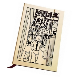 Bloc de notas / Libreta Tintín en Shanghai A6 (54630)