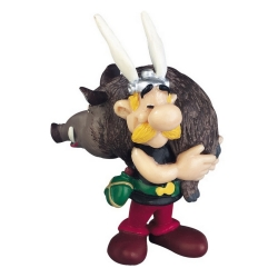 Figurine de collection Plastoy Astérix portant un sanglier 60545 (2015)
