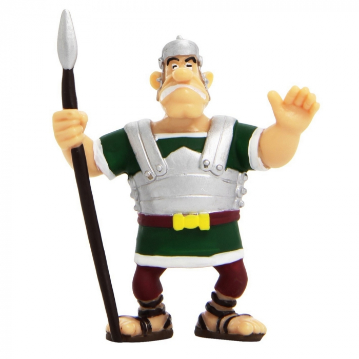 Figura de colección Plastoy Astérix El Legionario Romano con lanza 60520 (2015)