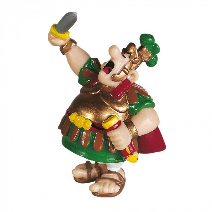 Figurine de collection Plastoy Astérix Le Centurion Romain et épée 60514 (2015)