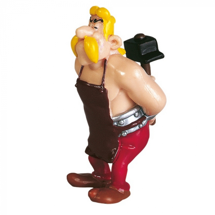 Collectible figure Plastoy Astérix Fulliautomatix The Blacksmith 60507 (2015)