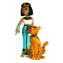 Collectible figure Plastoy Astérix Cleopatra with Panther 60513 (2015)