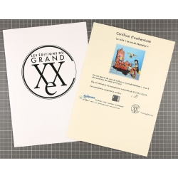 Unframed Canvas  Johan and Peewit Montrésor Editions Grand Vingtième (100x100cm)