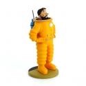 Figura de colección Tintín Haddock cosmonauta 15cm Moulinsart 42200 (2016)