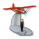 Figurine de collection Tintin L'avion du Professeur Halambique Nº42 29562 (2016)