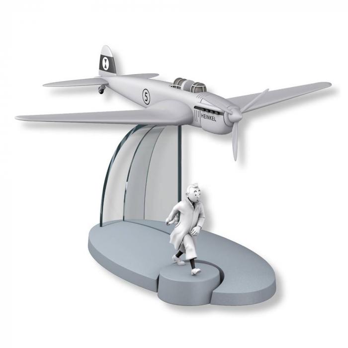 Figura de colección Tintín El avión de guerra Cetro de Ottokar Nº44 29564 (2016)