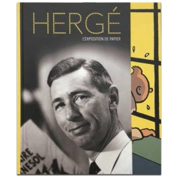 Book of the catalogue of the Hergé Exhibition at the Grand Palais Tintin (28994)