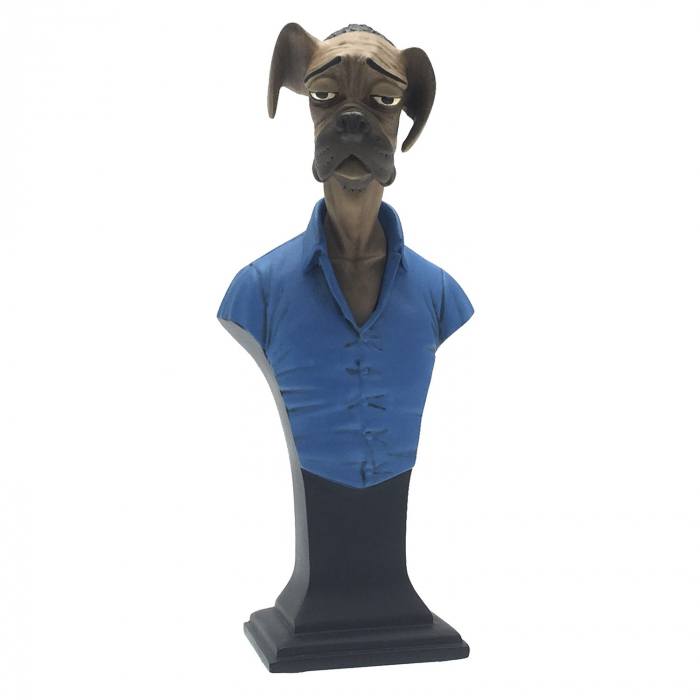 Buste de collection Attakus Blacksad Sebastian le chien B429 (2016)