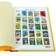 Hergé, Tintin: 25 timbres (stamps) à la une Moulinsart (24012)