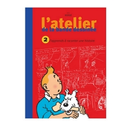 Tintín L'atelier de la bande dessinée: J'apprends à raconter une histoire 28457