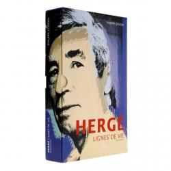 Tintín, biografía ilustrada de Hergé: Lignes de vie de Philippe Goddin (24097)