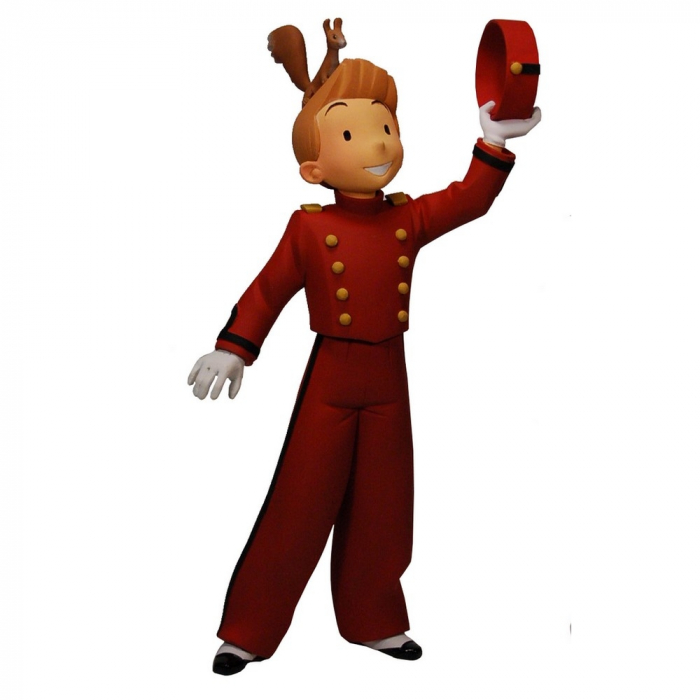 Collectible Resin Figurine Fariboles: Spirou by Bravo - SPIB (2009)