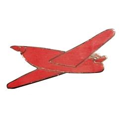 Pin's del avión Stratonef H22 de Jo, Zette y Jocko Moulinsart Nº26 (Sundancer)