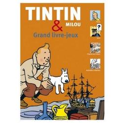 Gran álbum de juegos de las aventuras de Tintín y Milú 24258 FR (2011)