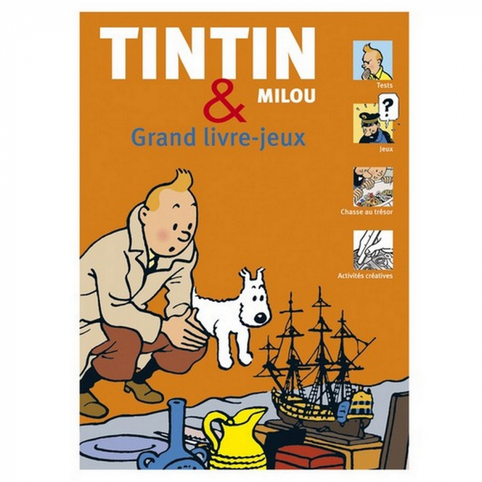 Book of games The Adventures of Tintin and Snowy 24258 FR (2011)
