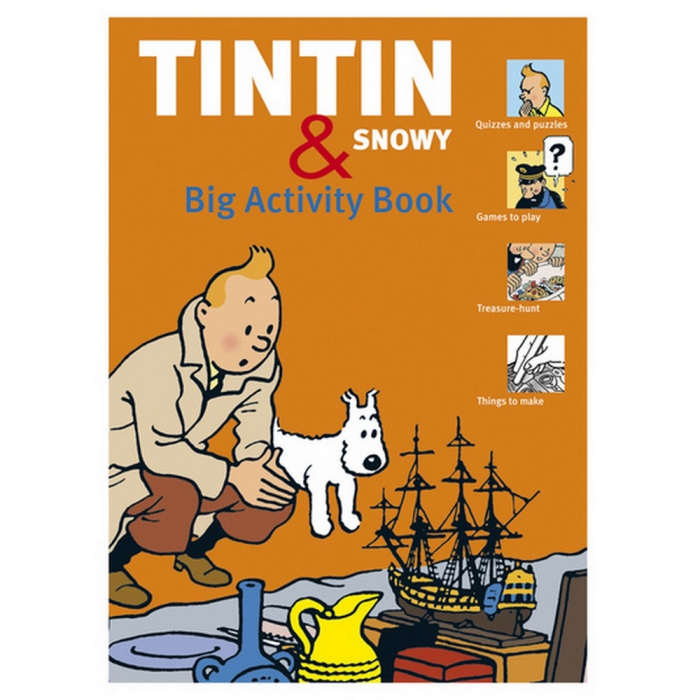 Big Activity Book Games The Adventures of Tintin and Snowy 24257 EN (2011)
