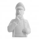 Porcelain bust Tintin Pensive Haddock Moulinsart Mate 12cm - 44206 (2014)