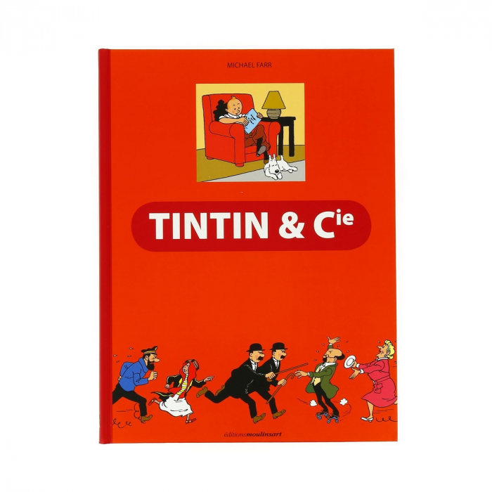 Éditions Moulinsart Book Tintin & Cie by Michael Farr (24094)