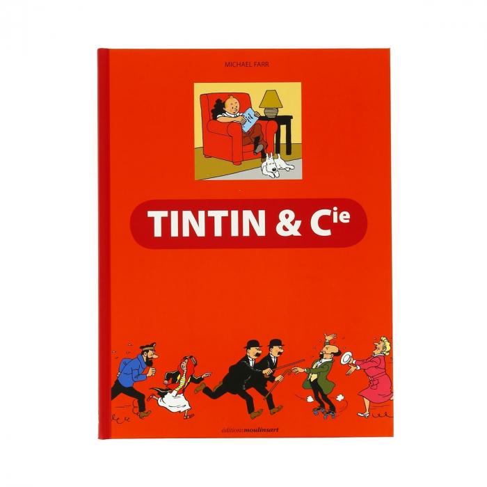 Livre aux Éditions Moulinsart Tintin & Cie de Michael Farr (24094)
