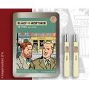 Coffret d'eaux de parfum Blake et Mortimer Vétyver 0000008 (2x15ml)