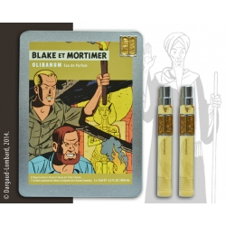 Eau de parfum Box Set Blake and Mortimer Olibanum BM144 (2x15ml)