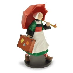 Collectible Figurine Plastoy: Bécassine with an umbrella 00410 (2016)
