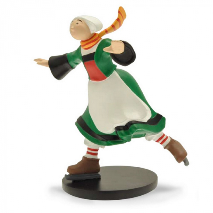 Figurine de collection Plastoy: Bécassine en patineuse 00412 (2016)