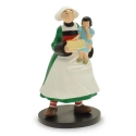 Collectible Figurine Plastoy: Bécassine and Loulotte 00411 (2016)