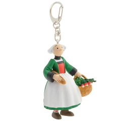 Keychain figure Plastoy Bécassine back from the market 61076 (2014)