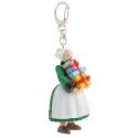 Llavero figura de Plastoy Bécassine llevando regalos 61073 (2014)
