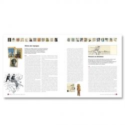 Tintin Book The Musée Hergé Catalogue Dominique Maricq 24296 (2009)