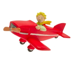 Figurine de collection Plastoy Le Petit Prince en avion 61029 (2016)