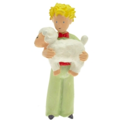 Figurine de collection Plastoy Le Petit Prince avec le mouton 61031 (2016)
