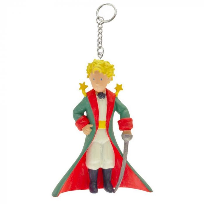 Porte-clés figurine Plastoy Le Petit Prince en habit de prince 61038 (2016)